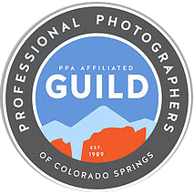 Proud Member of the Professional Photographers of Colorado Springs PPA Guild